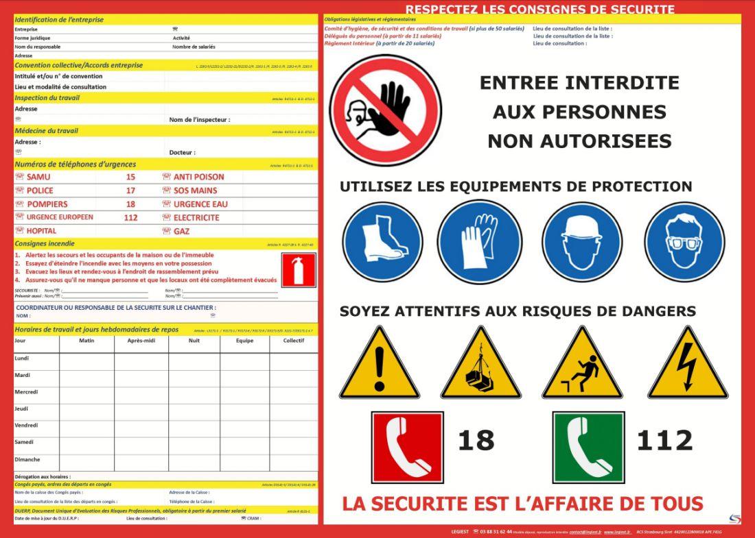 Affichage Obligatoire Du Code Du Travail 2019 Droit Du